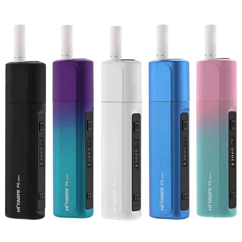 HITASTE P6 mini tubaka kuumutamise süsteem (Heat-not-Burn ), must