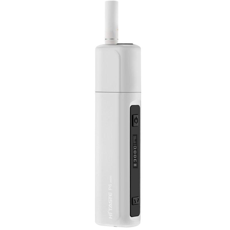 HITASTE P6 mini tubaka kuumutamise süsteem (Heat-not-Burn ), valge